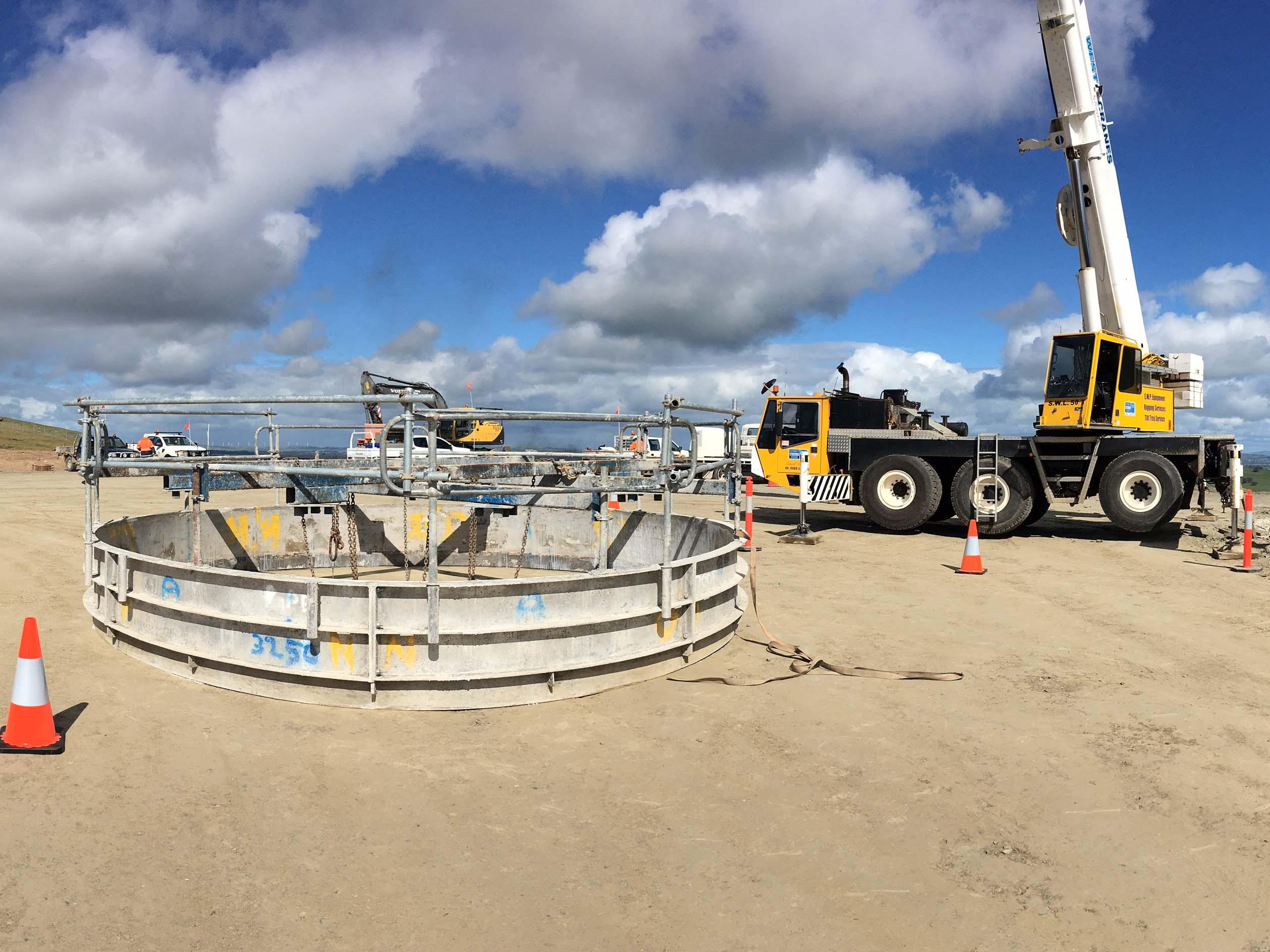 Demag 55 Ton All-Terrain Crane Hire Stawell | Western Victoria