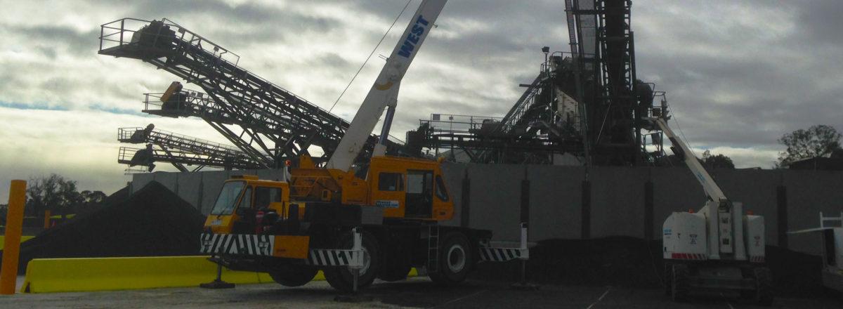 Tadano 20 Ton All-Terrain Crane Hire Stawell | Victoria